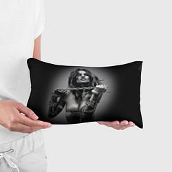 Подушка-антистресс Девушка с цепью цвета 3D — фото 2