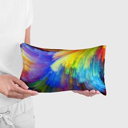 Подушка-антистресс Абстракция красок цвета 3D — фото 2