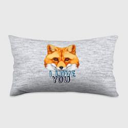 Подушка-антистресс Милая лисичка! цвета 3D — фото 1