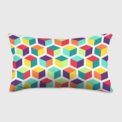 Подушка-антистресс 3D кубы цвета 3D — фото 1