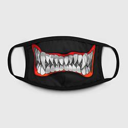 Маска для лица Зубы монстра цвета 3D-принт — фото 2