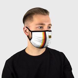 Маска для лица I Love Germany цвета 3D-принт — фото 1