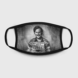 Маска для лица Пабло Эскобар цвета 3D-принт — фото 2