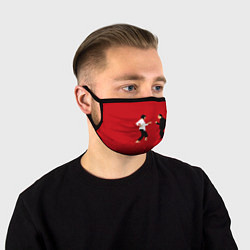 Маска для лица Криминальное чтиво цвета 3D — фото 1