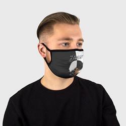 Лицевая защитная маска с принтом Dzhizus, цвет: 3D, артикул: 10201940105881 — фото 1