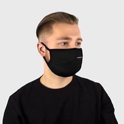 Маска для лица ПОЛИЦИЯ НА СПИНЕ цвета 3D — фото 1