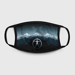 Маска для лица Westworld Landscape цвета 3D — фото 2