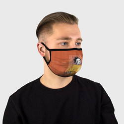 Маска для лица Bjork цвета 3D-принт — фото 1
