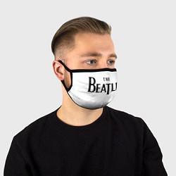 Маска для лица The Beatles цвета 3D-принт — фото 1