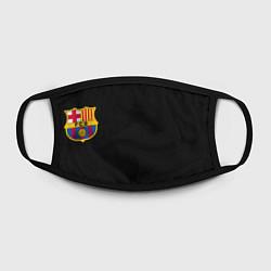Маска для лица BARCELONA FC цвета 3D — фото 2