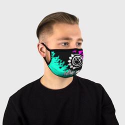 Маска для лица Blink-182 5 цвета 3D — фото 1