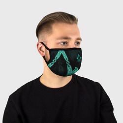 Лицевая защитная маска с принтом ASSASSINS CREED VALHALLA, цвет: 3D, артикул: 10221930705881 — фото 1