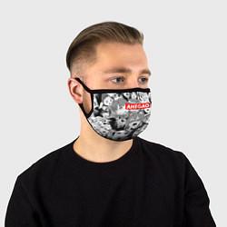 Маска для лица AHEGAO АХЕГАО цвета 3D — фото 1