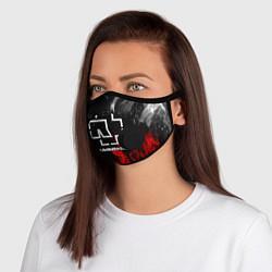 Неопреновая маска с клапаном с принтом RAMMSTEIN РАМШТАЙН, цвет: 3D-черный, артикул: 10251592705999 — фото 1