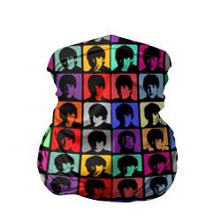 Бандана-труба The Beatles: pop-art цвета 3D — фото 1