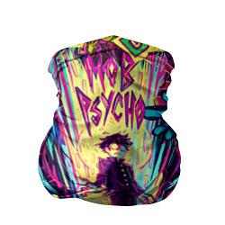 Бандана-труба Моб Психо 100 цвета 3D — фото 1