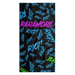 Бандана-труба Paramore RIOT! цвета 3D — фото 2