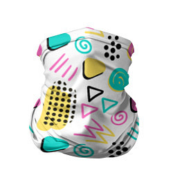Бандана-труба Поп-арт цвета 3D — фото 1