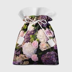 Мешок для подарков Весенние цветы цвета 3D — фото 1