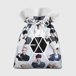 Мешок для подарков EXO Boys цвета 3D — фото 1