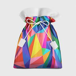 Мешок для подарков Радуга цвета 3D — фото 1