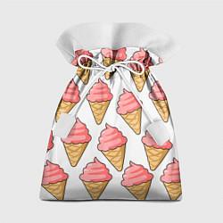 Мешок для подарков Мороженки цвета 3D — фото 1