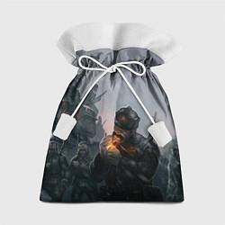 Мешок для подарков Солдаты цвета 3D — фото 1