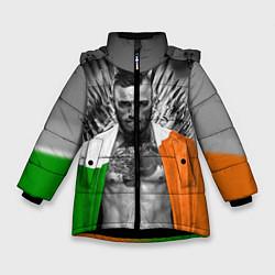 Куртка зимняя для девочки McGregor: Boxing of Thrones цвета 3D-черный — фото 1