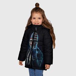 Куртка зимняя для девочки Payday Rock цвета 3D-черный — фото 2