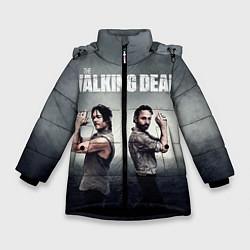 Куртка зимняя для девочки Walking Duet цвета 3D-черный — фото 1