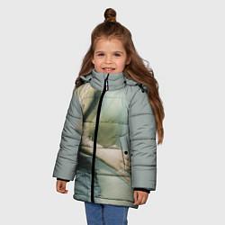 Куртка зимняя для девочки Placebo Body цвета 3D-черный — фото 2