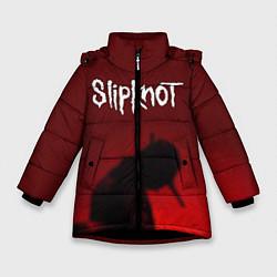 Куртка зимняя для девочки Slipknot Shadows цвета 3D-черный — фото 1