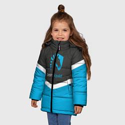 Куртка зимняя для девочки Team Liquid Uniform цвета 3D-черный — фото 2