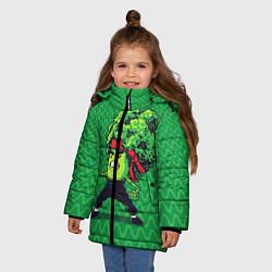 Куртка зимняя для девочки Брокко Ли - фото 2