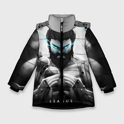 Куртка зимняя для девочки Spirit цвета 3D-черный — фото 1