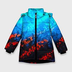 Куртка зимняя для девочки Still waiting neon цвета 3D-черный — фото 1