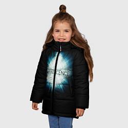 Куртка зимняя для девочки Evanescence Explode цвета 3D-черный — фото 2