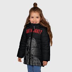 Куртка зимняя для девочки Gotta light? цвета 3D-черный — фото 2