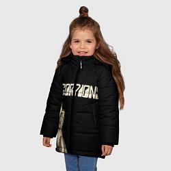 Куртка зимняя для девочки Scorpions Rock цвета 3D-черный — фото 2