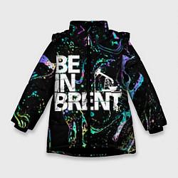 Куртка зимняя для девочки Be in brent цвета 3D-черный — фото 1