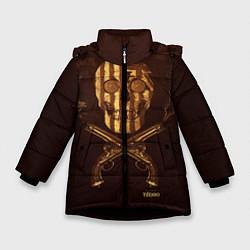 Куртка зимняя для девочки Taboo Duel - фото 1