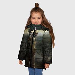 Куртка зимняя для девочки STALKER: Call of Pripyat цвета 3D-черный — фото 2