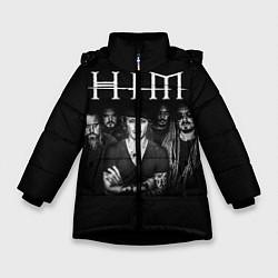 Куртка зимняя для девочки HIM Rock - фото 1