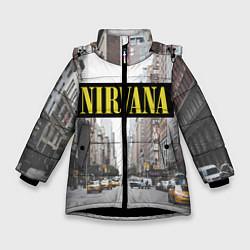 Куртка зимняя для девочки Nirvana City цвета 3D-черный — фото 1