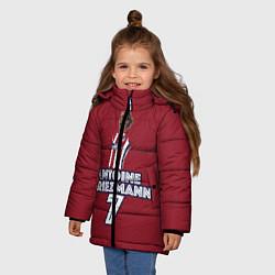Куртка зимняя для девочки Antoine Griezmann 7 цвета 3D-черный — фото 2