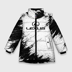 Куртка зимняя для девочки Lexus: Black Breaks цвета 3D-черный — фото 1