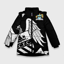 Куртка зимняя для девочки FC Manchester City: Exclusive цвета 3D-черный — фото 1