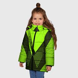 Куртка зимняя для девочки Judo: Sport Style цвета 3D-черный — фото 2