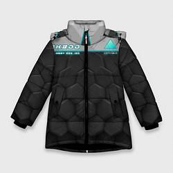Куртка зимняя для девочки Detroit: RK800 Grey Style цвета 3D-черный — фото 1