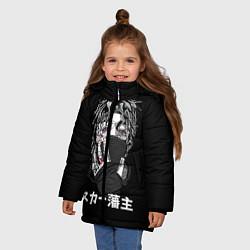 Куртка зимняя для девочки Scarlxrd: hieroglyphs - фото 2